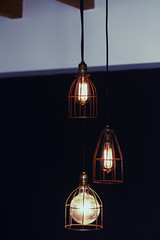 Cage Lights (4) (MW O_o) Tags: handmade maciek thomasedison droplight worklight pendantlight pendantlamp wilkos worklamp industriallight edisonbulb maciekwilkos industriallamp cagelight factorylamp cagelamp factorylight vintagelampvintagelight factory514 factory514ca