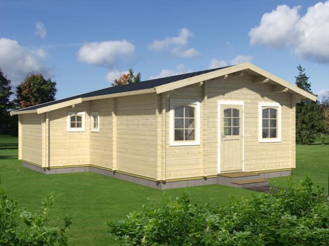 Casa de madera Urkilla