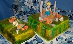 Ponque ingenioso  Constructor (PaulitasArteyAzucar) Tags: tortas paulitas ponques