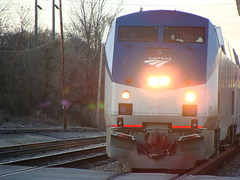 Amtrak Train Going to New York. (bamaboy1941) Tags: amtrak trainengines allthingsrailroad usrailfanpictures annistonal alabama