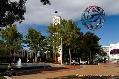 Hastings Clock Tower - Hawke's Bay, New Zealand (My Planet Experience) Tags: trip travel newzealand vacation holiday art tourism architecture canon photography photo photographie tour place image pics sightseeing visit icon location tourist journey nz destination northisland hastings sight traveling visiting deco paysage exploration napier parc touring hawkesbay australe nouvellezlande artdecoarchitecture ledunord wwwmyplanetexperiencecom myplanetexperience