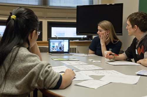 Meeting via Skype by umseas, on Flickr