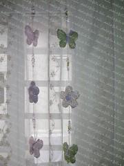 Móbiles (Golla & Zolla) Tags: flores cortina flor fuxico patchwork decoração borboletas móbile bebês enxoval patchcolagem floresdetecido patchaplique