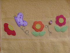 * Toalhinha de mão * (Silvaninha Patchwork) Tags: flores de patchwork mão toalhinha
