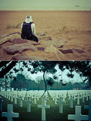 Remember the D Day {Explore} (Alexandre Moreau | Photography) Tags: france beach french photography us remember graves omaha normandy dday americancemetery 6june1944 alexandremoreau