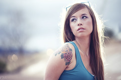 Tera (Garrett Meyers) Tags: california colors girl canon long photographer bokeh board 5d redding garrettmeyers