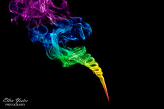 Color Smoke (Ellen Yeates) Tags: canon ellen smoke under trick various incense yeates smokecolor