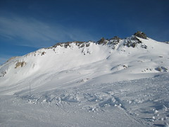Tignes - Skiing () Tags: mountain snow ski france alps montagne alpes neige tignes   slope  piste