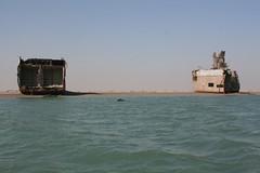 Tambur Wreck, Khor al-Zubair, Iraq
