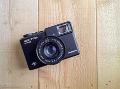 Agfa Optima Sensor (Abram Goglanian) Tags: analog 1982 filmcamera cameraporn germandesign agfaoptimasensor iphone4 iphoneography