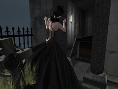 AM Dress Dream back (C H A M | M O D E L | B L O G G E R |) Tags: lamb newrelease freebies freehair amarelomanga secondlifefashion groupgift chamonixboudreaux