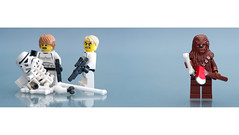 Who is responsible ? (Zed The Dragon) Tags: storm trooper rock french geotagged toys effects photography star iso100 photo starwars funny flickr lego minolta photos bokeh guitar sony 100mm lucas full empire frame stormtrooper wars vader fullframe alpha darthvader chewie groupe postproduction franais sal deathst