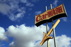 Car Wash (avilon_music) Tags: california sky signs car sign clouds canon carwash 7d signage arrow southerncalifornia googie arrowsigns vintagesigns carwashes carwashsigns markpeacockphotography avilonmusic