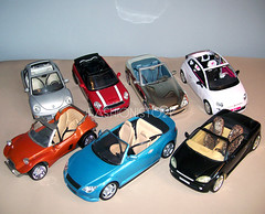 The Car Show (fashionisto2k) Tags: car vw volkswagen fiat dune beetle barbie vehicle minicooper bling buggy myscene
