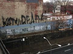 KATSU, READ, REVS, SOUP, DOVER, KECH, BETS, EAMS, ADEK, CHE, ZEXOR (S C R A T C H I E S) Tags: nyc soup graffiti revs read che dover adek katsu bets eams btm kech zexor