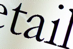 4/52 Extreme detail (Iain.H) Tags: macro closeup computer words text letters screen pixels serif 2012 week4 garamond 522012 52weeksthe2012edition weekofjanuary22