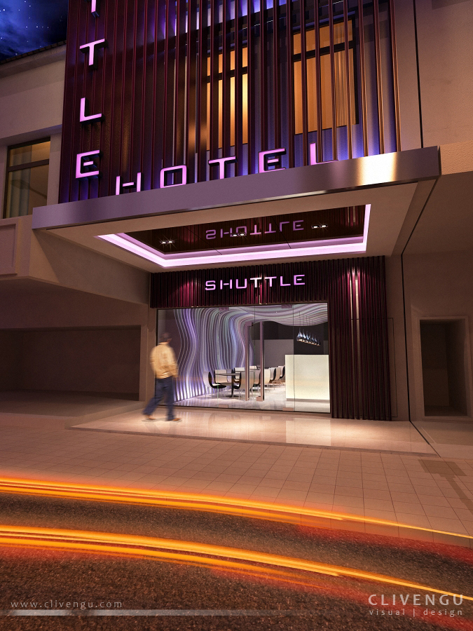 Shuttle Boutique Hotel Entrance 01