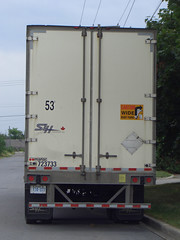 SLH Transport Inc. (Sears Canada) 53' Manac Trailer 7237330 rear Ottawa, Ontario 08152005 Ian A. McCord (ocrr4204) Tags: ontario canada ottawa rear transport casio gloucester pointandshoot parked trailer mccord manac trucking slh remorque qvr51 ianmccord ianamccord