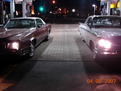 1967 Cadillac & 1959 Buick (sixty8panther) Tags: door two hardtop sedan big long low engine 8 eldorado cylinder motor lesabre wildcat eight coupe sleek v8 fwd 1959 nailhead 429 luxurycoupe buicklesabre 2door 4411 1967cadillac 59buick 1959buick fleetwoodeldorado 67caddy