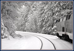 Sierra Nevada's from Train (Loco Steve) Tags: california railroad travel snow december gap amtrak  2010  emigrant  californiazephyr