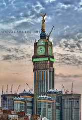Clock Towers - New View (Youssef_Ahmed) Tags: tower clock towers arab saudi ahmed mecca 2012 makkah youssef 2011 y2020y