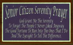 Senior Citizen Serenity Prayer (Good Simple Sites) Tags: senior prayer serenity citizen