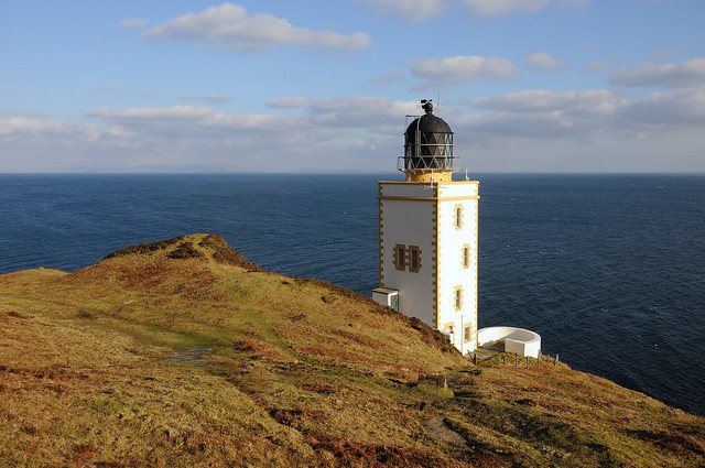 Pillar Rock Lighthouse (Holy Island Outer), Arran, Scotland