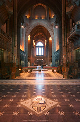 Cathedral on Nex 7 (Lee Carus) Tags: architecture liverpool interior sony gothic anglican cathdral nex7