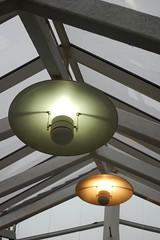 Pedestrian lights (The Snige) Tags: trafficlights green lights amber shropshire escalator shoppingcentre shrewsbury