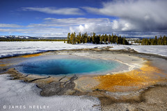 Warm My Heart (James Neeley) Tags: winter landscape yellowstonenationalpark yellowstone wyoming hdr 5xp jamesneeley flickr24