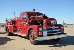 Seagrave Anniversary Model Quad Fire Engine (Boushh_TFA) Tags: usa truck fire 22 oak model nikon force desert glendale anniversary air luke lawn engine quad days lightning nikkor base department f4 vr dept seagrave 2014 d600 luf 24120mm kluf