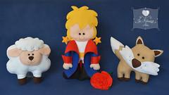 O Pequeno Príncipe ♥ (Jo Matarazzo Ateliê) Tags: craft felt feltro aniversário ovelha raposa opequenopríncipe festapequenopríncipe pequenopríncipefeltro pequenopríncipedecoração