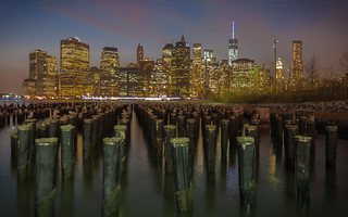 Dramatic Manhattan Skyline