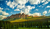 """Castle Mountain (thejackluo) Tags: mountain canada tree nature landscape nikon scenery colorful scenic vivid ab wideangle alberta banff 1855mm pinetrees castlemountain wideanglelens 2013 1855mmvr 1855mmf3556vr epiclight epicclouds wwwweixiluotk"""""""