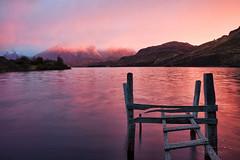 Brilliant Morning Glow over Lago Pehoe (Ding Ying Xu) Tags: chile morning patagonia sunlight lake southamerica sunrise torresdelpaine lagopehoe