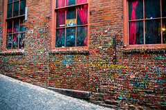Famous Gum Wall (cimp8499) Tags: seattle gum sticky pikesplacemarket pikesplace gumwall downtownseattle seattlewashington