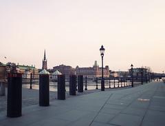 (katj-) Tags: bridge sunset stockholm stan sverige gamla
