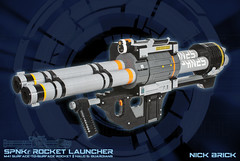SPNKr Rocket Launcher - Halo 5: Guardians (Nick Brick) Tags: life gun lego halo 11 size replica rocket spartan launcher rocketlauncher guardians spanker spnkr halo5 nickbrick