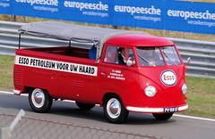 Volkswagen T1 Esso Service | canvas pick-up (Andrea Lattanzio) Tags: vw volkswagen esso exxon vwt1