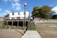Ferry steps (yellow book) Tags: norfolk lynn northsea kingslynn riverouse greatouse hanseaticleague thewash