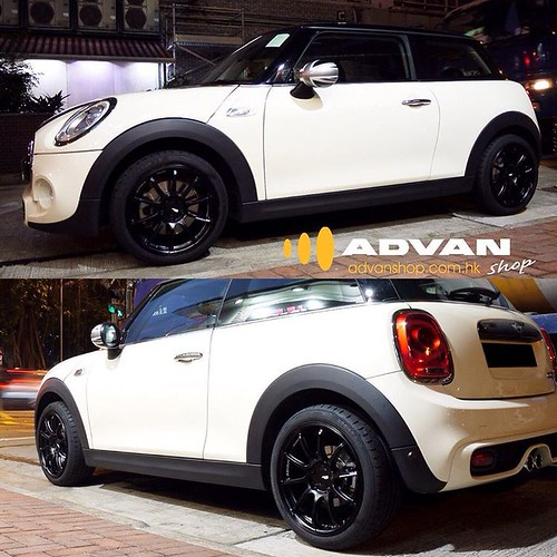 Mini F56 Copper S Advan Racing Rs2 Flow Forming Light Weight Wheels