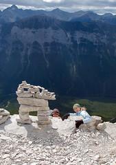 20090911_Ryan_in_Banff_0007.jpg (Ryan and Shannon Gutenkunst) Tags: canada hiking hike alberta banff mountrundle emiliahuertasanchez