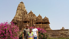 Khajuraho temples (vbolinius) Tags: travel india tree temple khajuraho 2016 cooperbolinius carolynjurek vernbolinius
