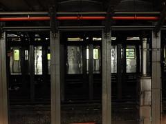 Across the Tracks (failing_angel) Tags: usa newyork manhattan subwaystation ussa princestreet 300515
