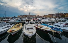 Rovinj (17) (Vlado Fereni) Tags: clouds boats cityscape cloudy cities croatia rovigno rovinj adriatic adriaticsea istria hrvatska jadran istra jadranskomore nikond600 citiestowns sigma12244556