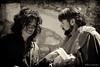 Esclava y tratante de esclavos - The slave and slaver (Eva Ceprián) Tags: blackandwhite woman man blancoynegro teatro actors mujer theatre medieval actress actor catalunya slavery hombre montblanc cataluña tarragona slave mediaeval slaver actriz actores esclava montblanch representación playacting esclavismo esclavista nikond3100 tamron18270mmf3563diiivcpzd evaceprián medievalfairmontblanc feriamedievaldemontblanc
