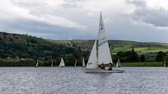 Sailing on Llangorse Lake (Claire Young) Tags: wales spring may sailingboat 2016 llangorselake