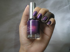 Desafio Ostentassaum - VL04 (Missha) (Daniela nailwear) Tags: shimmer roxo missha esmaltes mofeita esmalteimportado vl04 desafioostentassaum