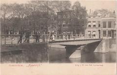 Ansichtkaart Gorinchem Appeldijk (Barry van Baalen) Tags: bridge haven holland harbour postcard brug alblasserwaard ansicht gorinchem ansichtkaart