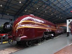 Duchess of Hamilton (Megashorts) Tags: york uk england museum yorkshire railway olympus pro f28 nationalrailwaymuseum omd em10 mzd 1240mm